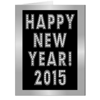 Happy New Year 2015 Big Greeting Cards Card