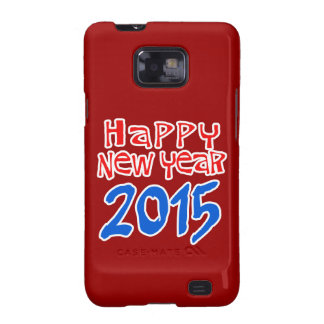 HAPPY NEW YEAR 2015 GALAXY S2 CASES