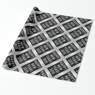Happy New Year 2015 Gift Wrapping Paper Gift Wrapping Paper