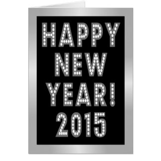 Happy New Year 2015 Greeting Cards Card