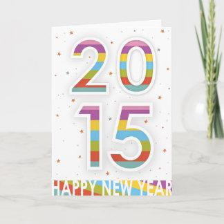 Happy New Year 2015 Holiday Card