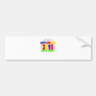 HAPPY NEW YEAR 2015 L.png Bumper Sticker