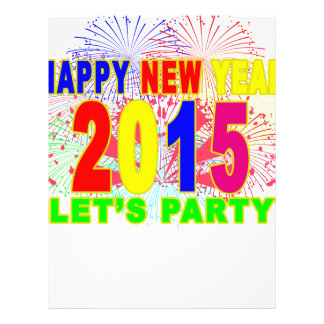 HAPPY NEW YEAR 2015 L.png Letterhead Design