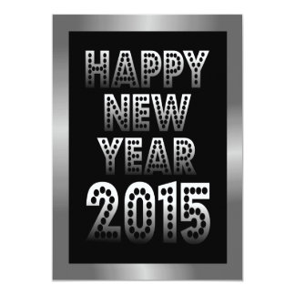Happy New Year 2015 Party Invitations