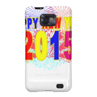HAPPY NEW YEAR 2015.png Samsung Galaxy SII Covers