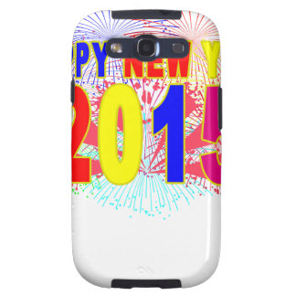 HAPPY NEW YEAR 2015.png Samsung Galaxy S3 Cases