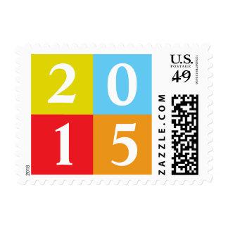 Happy New Year | 2015 Stamp
