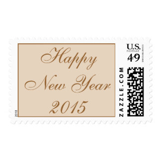 Happy New Year | 2015 Postage Stamp