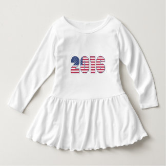 Happy New Year 2016 American Flag Colors USA Dress