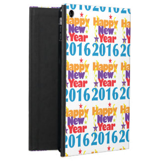 Happy New Year 2016 iPad Air Covers