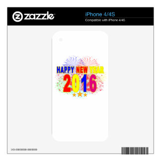 happy new year 2016.png iPhone 4S decals