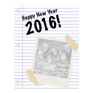 Happy New Year 2016! POLAROID Postcard