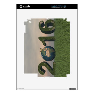 Happy new year 2016 skins for iPad 2
