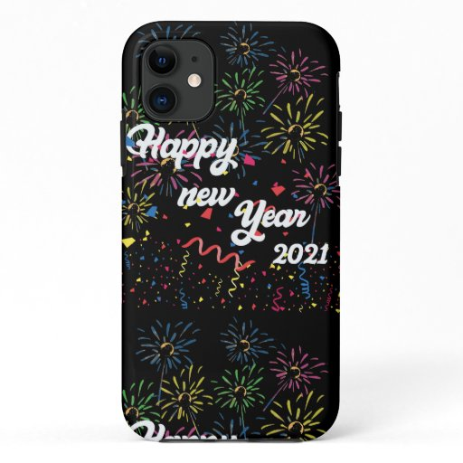 happy new year 2021 iPhone 11 case