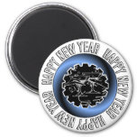 Happy New Year 2 Magnet