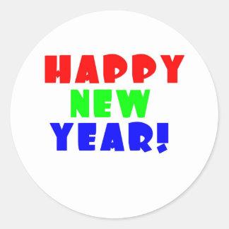 Happy New Year 2 Sticker