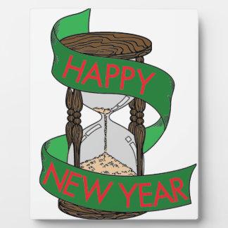 Happy New Year 5 Plaque