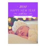 Happy New Year 5x7 Paper Invitation Card