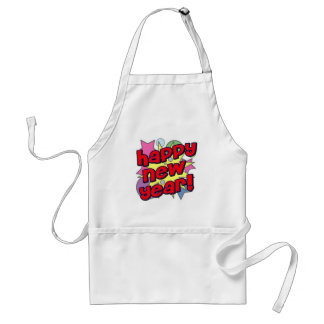 Happy New Year! Adult Apron