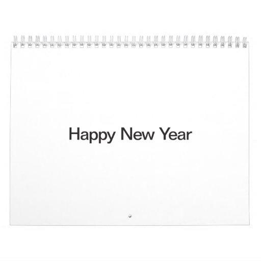 Happy New Year.ai Calendar
