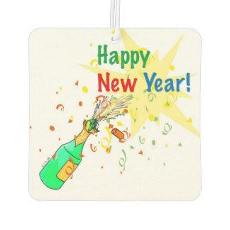 happy new year air freshener
