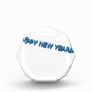 Happy New year Acrylic Award