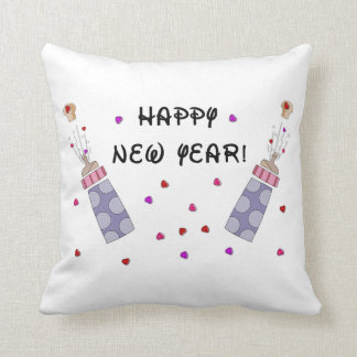 Happy New Year Baby Throw Pillow