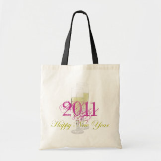 Happy New Year Bag Template