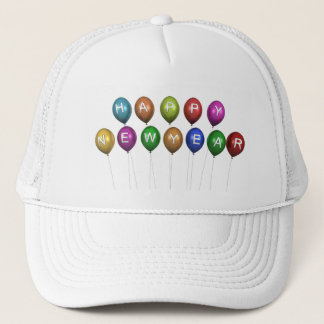 Happy New Year Balloons Hat