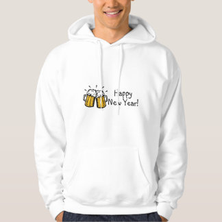Happy New Year Beer Hoodie
