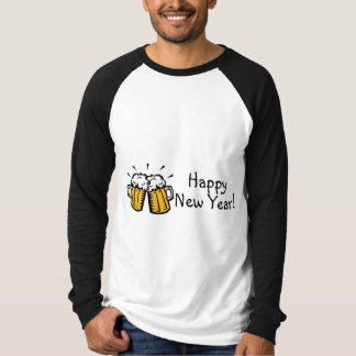 Happy New Year Beer T-Shirt