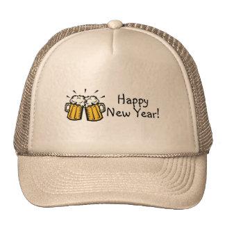Happy New Year Beer Trucker Hat