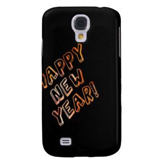 happy new year black samsung galaxy s4 cases