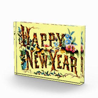 Happy New Year Block Award