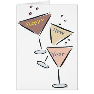 Happy New Year Bubbly Card