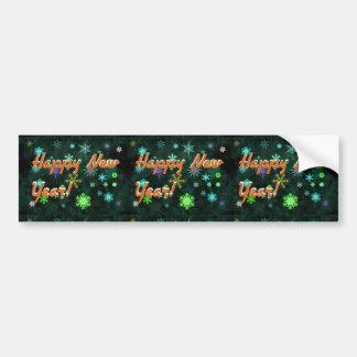 Happy New Year Bumper Sticker