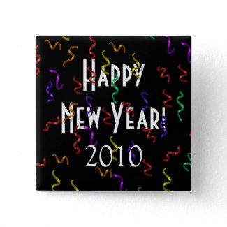 Happy New Year Button button