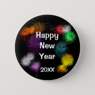 Happy New Year Button