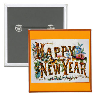 Happy New Year! - Button #1
