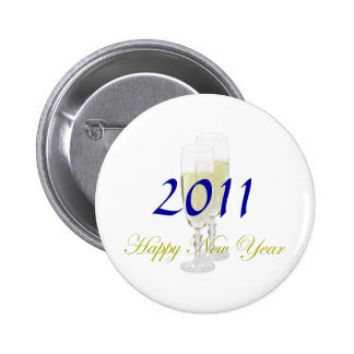 Happy New Year Button Template
