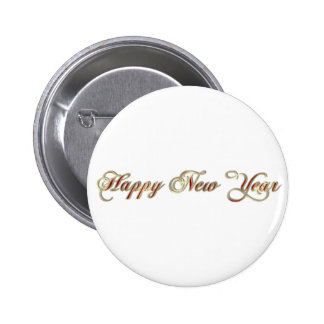 happy new year buttons