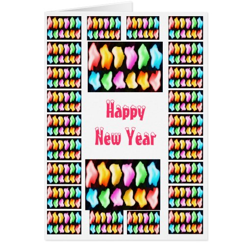 Happy New Year  - Buy Blank or Add Greeting Greeting Cards
