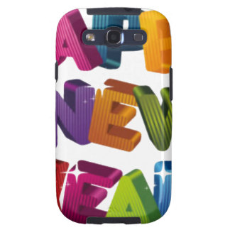 Happy New year Samsung Galaxy S3 Cases