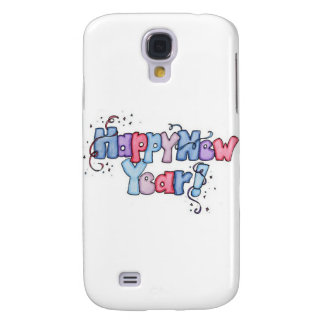 Happy New Year Galaxy S4 Cases