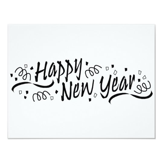 Happy New Year Celebration Card