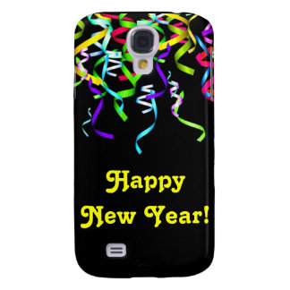 Happy New Year Cell Phone Case Galaxy S4 Cover