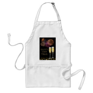 Happy new Year - Champagne Standard Apron