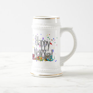 HAPPY NEW YEAR! CHOICES BEER STEIN