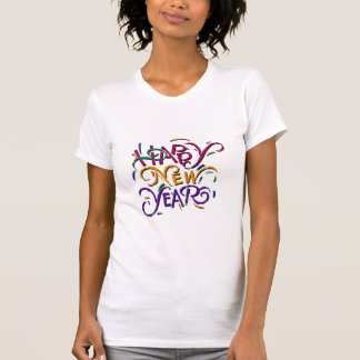 Happy New Year Color 2 Tee Shirt