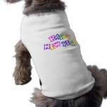 Happy New Year Color Doggie Shirt